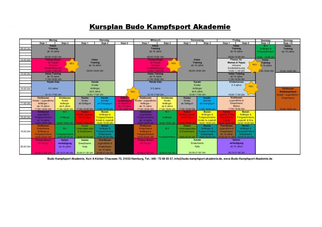 BKA - Kursplan