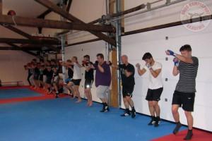 Boxen Ringkampf