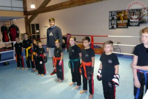 Training Kickboxen