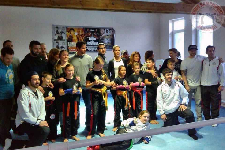 Vereinsmeisterschaft Kickboxen
