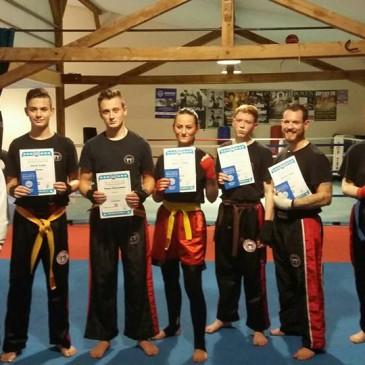 Kickboxen WAKO Gürtelprüfung in der BKA