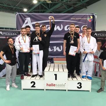 Erfolge im Kickboxen und Karate