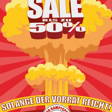 Kampfsport Sortiment 50% SALE