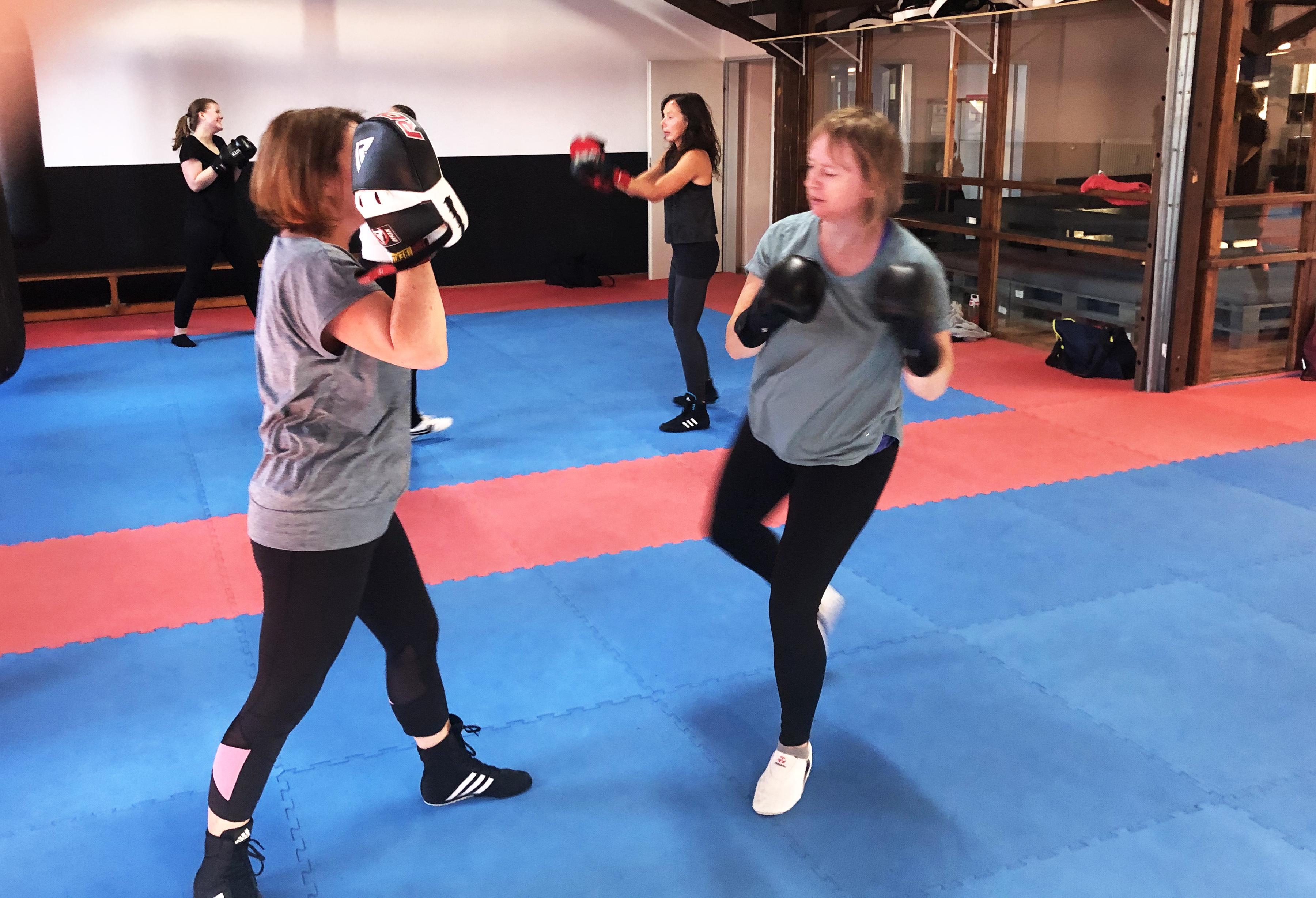 Kickboxen Fitness