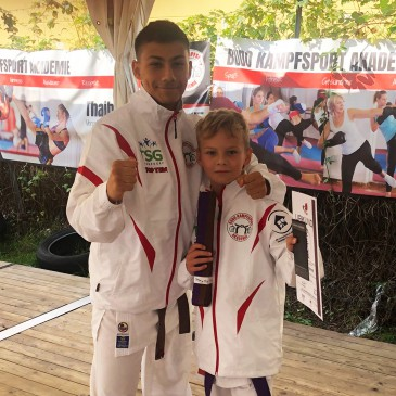 Karate Gürtelprüfung zum nächsthöheren Gürtel