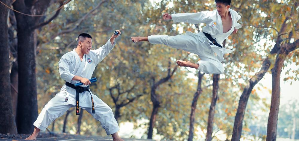 Karate Training Kampfsport