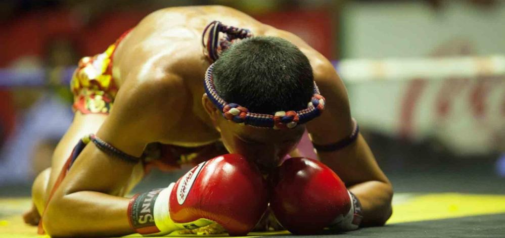 Gebet Thaiboxen