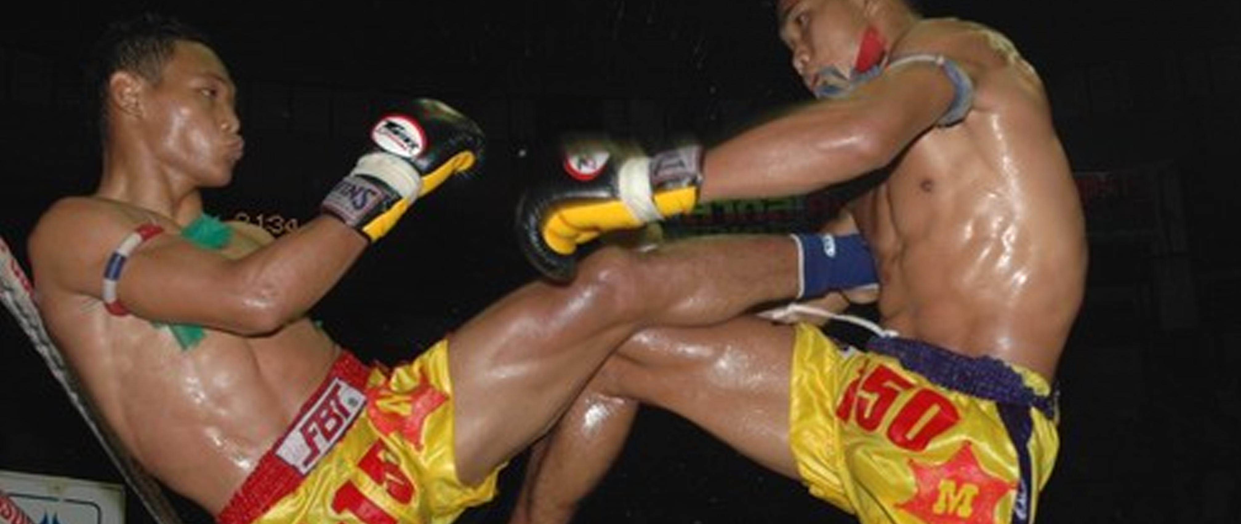 Muai-Thai Thaiboxen Kampfsport