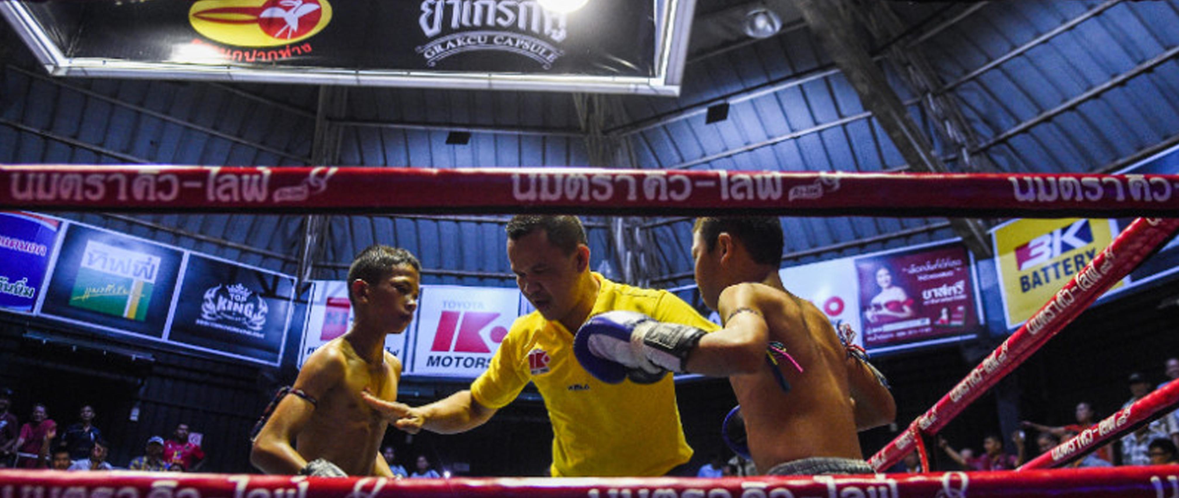 Thaiboxen Trainieren
