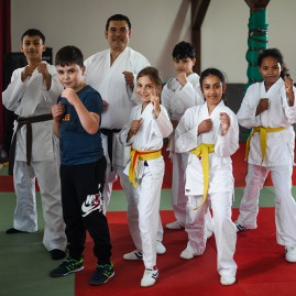 Karate Kinder Gelb Orange