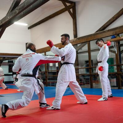 Karate Kumite Erwachsene Schlag
