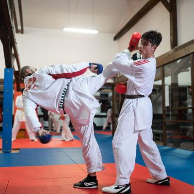 Karate Kumite Erwachsene Partnerübung