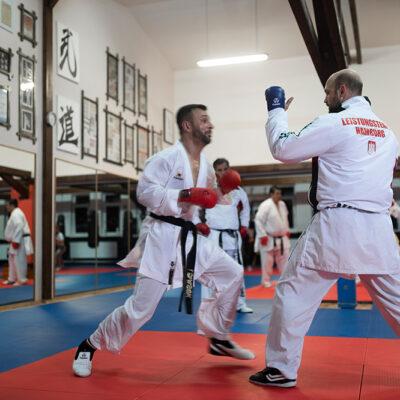 Karate Kumite Erwachsene Budo Kampfsport