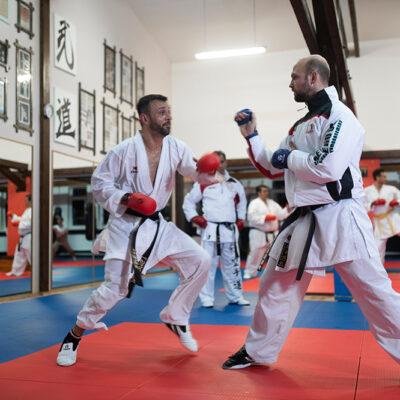 Karate Kumite Erwachsene Kampfsport