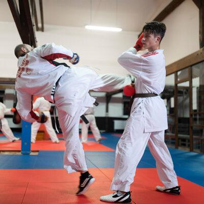 Training Karate Kumite Erwachsene
