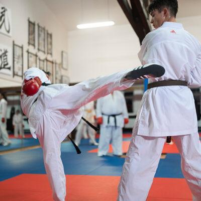 Workout Karate Kumite Erwachsene