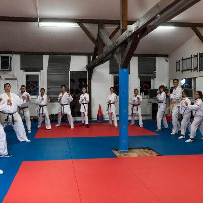 Karate Kumite Erwachsene Aufstellung