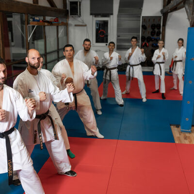 Karate Kumite Erwachsene Black Belt