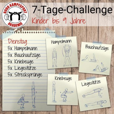 7-Tage-Challenge – 2. Aufgabe!