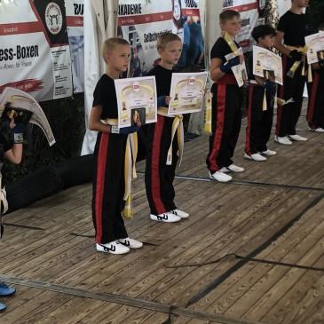 Prüfung Kickboxen